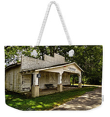 Weekender Tote Bag featuring the photograph Old Store In Dewitt Virginia by Melissa Messick