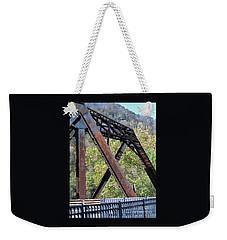 Old Thurmond Bridge Weekender Tote Bag by Sandy McIntire