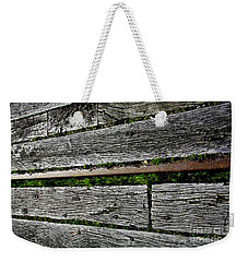 Weekender Tote Bag featuring the photograph Old Timber And Iron by Nareeta Martin
