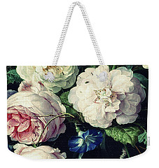 Old Time Botanical Weekender Tote Bag