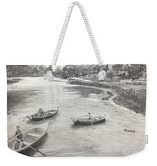Old Time Camp Days Weekender Tote Bag