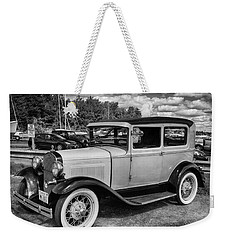 Old Time Riding Weekender Tote Bag