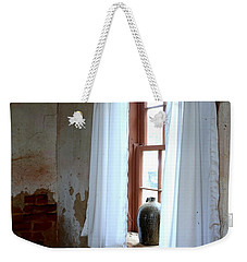 Old Time Window Weekender Tote Bag