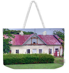Old Tobago House Weekender Tote Bag by Nadia Sanowar