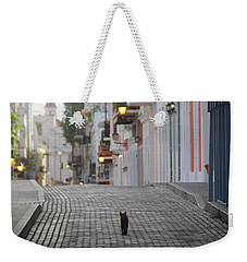 Old Town Alley Cat Weekender Tote Bag