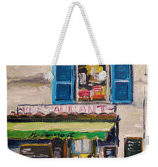 Old Town Cafe Weekender Tote Bag