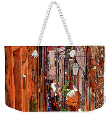 Old Town Dubrovniks Inner Passages Weekender Tote Bag