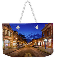 Old Town Evening Weekender Tote Bag