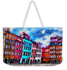 Old Town In Warsaw #11 Weekender Tote Bag