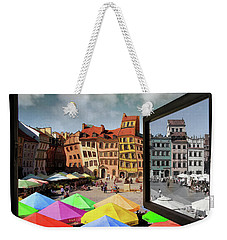 Old Town In Warsaw #13a Weekender Tote Bag