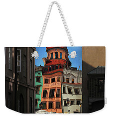 Old Town In Warsaw #14 Weekender Tote Bag