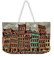 Old Town In Warsaw #15 Weekender Tote Bag