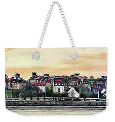 Old Town In Warsaw #16 Weekender Tote Bag