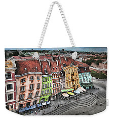 Old Town In Warsaw #20 Weekender Tote Bag