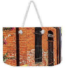 Weekender Tote Bag featuring the photograph Old Town Jail by Doug Camara