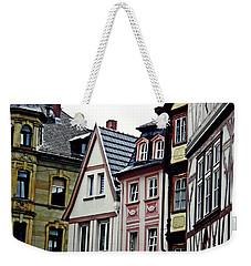 Old Town Mainz Weekender Tote Bag by Sarah Loft
