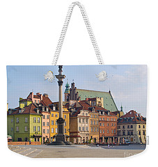 Old Town Square Zamkowy Plac In Warsaw Weekender Tote Bag