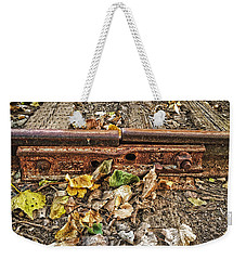 Old Tracks Weekender Tote Bag
