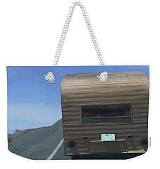 Old Trailer Weekender Tote Bag
