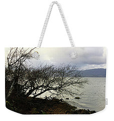 Weekender Tote Bag featuring the photograph Old Tree By The Bay by Chriss Pagani