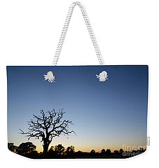 Old Tree Silhouette Weekender Tote Bag