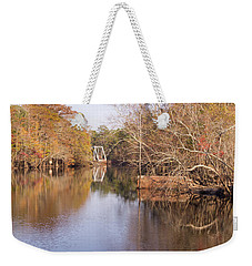 Old Trestle On The Waccamaw River Weekender Tote Bag