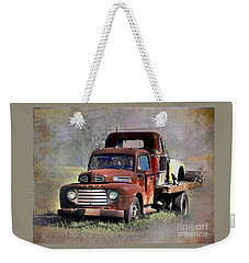 Weekender Tote Bag featuring the photograph Old Trucks by Savannah Gibbs
