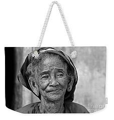 Old Vietnamese Woman Weekender Tote Bag