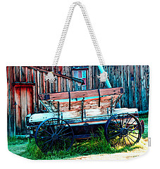 old Wagon In Bodie Weekender Tote Bag