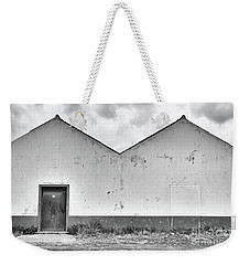 Old Warehouse Exterior Weekender Tote Bag