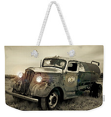 Old Water Truck Weekender Tote Bag