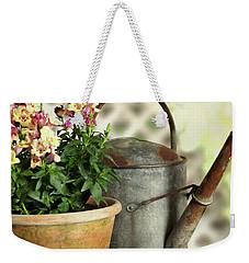 Old Watering Can  Weekender Tote Bag