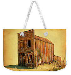 Old West Weekender Tote Bag by Steve McKinzie
