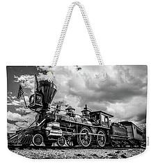 Old West Train Weekender Tote Bag