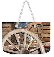 Old Wheel Weekender Tote Bag