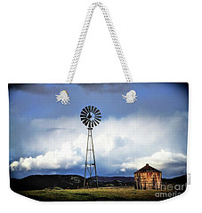 Old Windmill And Tank 2017 Weekender Tote Bag