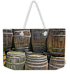 Old Wine Barrels Weekender Tote Bag
