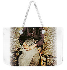 Old Woman Of Spain Weekender Tote Bag