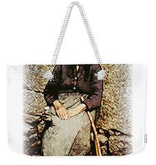 Old Woman Of Spain Weekender Tote Bag by Kenneth De Tore