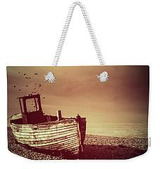 Old Wooden Boat Weekender Tote Bag