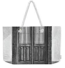 Old Wooden House Door Weekender Tote Bag