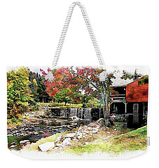 Old Wooden Mill Weekender Tote Bag by Joseph Hendrix