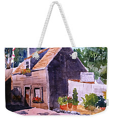 Old Wooden School House Weekender Tote Bag by Larry Hamilton
