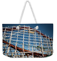 Weekender Tote Bag featuring the photograph Old Woody Coaster by T Brian Jones