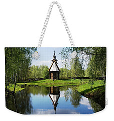 Old World Church Weekender Tote Bag