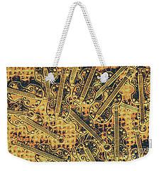 Old-world Musical Composition Weekender Tote Bag
