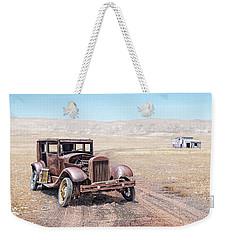 Old Wreck Weekender Tote Bag