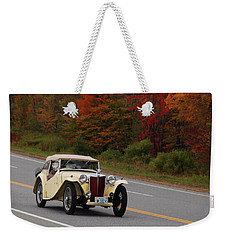 Weekender Tote Bag featuring the photograph Old Yeller 8168 by Guy Whiteley