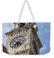 Olde Time Clock Weekender Tote Bag
