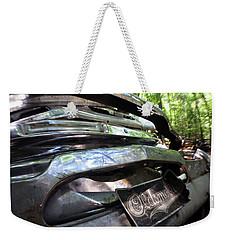 Oldsmobile Bumper Detail Weekender Tote Bag